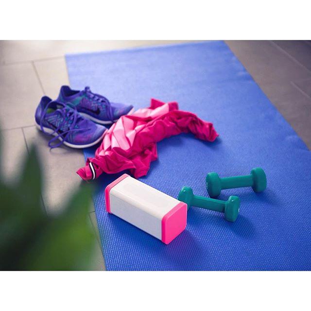 Instagram: Weekend preparation? #bluetooth #speaker #sports #gym