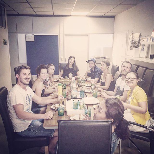 Instagram: #indoor #bbq #happy #people